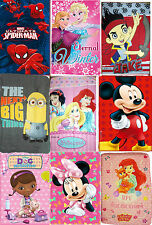 Disney Cartoons Kids Boys Girls Fleece Blankets Blanket Throw Cartoon characters