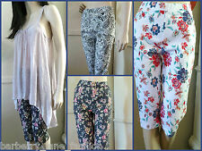 *Filo and Quelque* Floral black or white or paisley  size 10,12,14,16,18