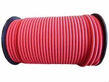 8MM RED ELASTIC BUNGEE ROPE SHOCK CORD TIE DOWN TARPAULINS VARIOUS LENGTHS