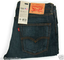 Levis 508 Slim Taper Fit   Made In USA  100% Cotton