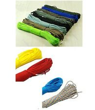 Outdoor Survival Desert Parachute Nylon Cord Paracord 550 7 Core Strand 100FT