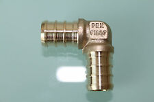 "New 1"" PEX Elbow (Lead Free) , Brass Crimp PEX Fitting"
