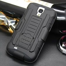 Hybrid Future Tank Armor Protector Hard Case Holster Stand Cover Combo Clip