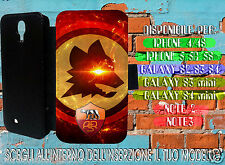 COVER smartphone ROMA for IPHONE e GALAXY S flip case apertura libro ecopelle