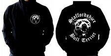 Staffie Hoodie - Staffordshire Bull Terrier Dog  *With Front & Back Print*