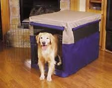 Petmate Pet Crate Cover - Dog Crate Covers - Dog Cage Cover - Brand New