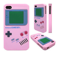 Soft Silicone Nintendo Gameboy Back Skin Case Cover for Apple iPhone 4s