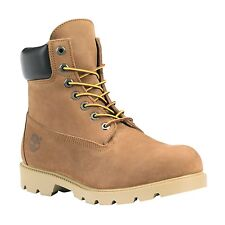 "Timberland Men's WATERPROOF 6""inch Brown Work Construction Boots 19076 ALL SIZES"