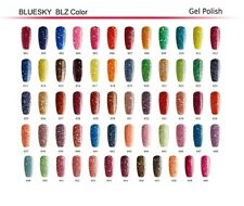 Bluesky Gel Polish - GLITTER RANGE - 60 Stunning shades that will last 14 days!