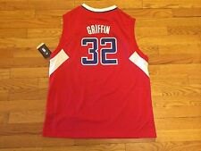 New Blake Griffin # 32 Los Angeles Clippers Adidas Replica Red Youth NBA Jersey