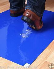 Sticky Tac Mat Adhesive Floor & Carpet Protection Floor protector tacky guard