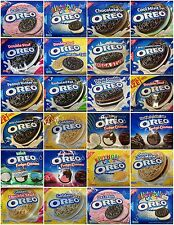2 Packs Nabisco OREO Sandwich Cookies Chocolate Golden Fudge Great Selection