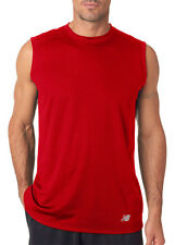 New Balance Men's Athletic Moisture Wicking Sleeveless Workout T-Shirt. NB7117