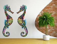 sea Horse Wall sticker vinyl Decal Wall Sticker Vinyl Art animal wild Mural