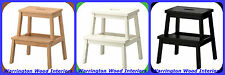 IKEA UTILITY STEP STOOL - AVAILABLE IN 3 COLOURS - BRAND NEW AND BOXED