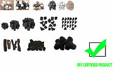 Gas fire  Ceramic Coals/Pebbles/Stones/Logs generic replacements RFC Certified.
