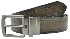 Levi's Distressed Genuine Leather Reversible Jeans Belt - Black or Brown - NEW