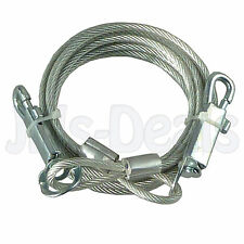 DOG TIE OUT CABLE LEASH LEAD CORD WIRE OUTDOORS GARDEN CAMPING DOGS PET PUPPY