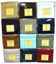 C Adams/ I Hotel 1800 Thread Count Queen Size Sheet Sets