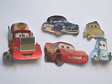 5 PIXAR  LIGHTNING MCQUEEN  CARS TOPPERS BIRTHDAY CARDS