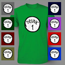 Drunk 1 ST PATRICK'S DAY beer irish PATTY'S FUNNY Mens T-Shirt