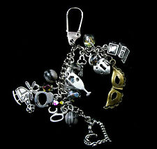 50 / Fifty Shades of Grey Inspired Keychain / Bag charm - Can be Personalised