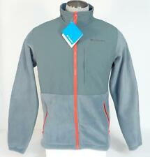 Columbia Loganville Trail 2.0 Gray Full Zip Fleece Jacket Mens NWT
