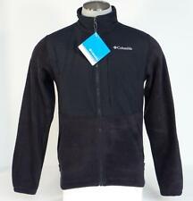 Columbia Loganville Trail 2.0 Black Full Zip Fleece Jacket Mens NWT