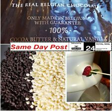 Chocolate for Fountain Milk, Dark,White Baking Celebrations,Decorations, Buttons