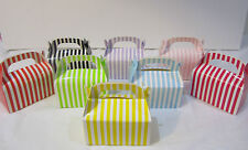 24x Striped Lolly Candy BOXES Party Favours Loot Lolly Party Bag - Candy  Buffet