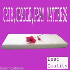 NEW QUILTED MATTRESS SOFT BREATHABLE & WATER PROOF BABY CRIB , PRAM COT