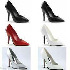 SEDUCE-420V PLEASER LADIES DRAG QUEEN CD CLASSIC COURT SHOES IN UK 2-13*