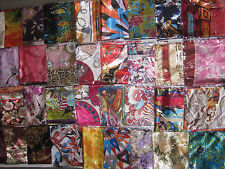 LARGE SILK BLEND SCARF VARIOUS DESIGNS 36INCH SQUARE IN SIZE Wholesale price