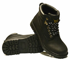 Mens Gents New Walking Hiking Trail Work Trainers Desert Ankle Boots Shoes Size