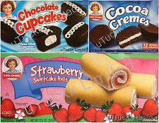 1 Box Little Debbie Snack Cake Wafer Brownie Donuts Muffins Variety Pick Flavor