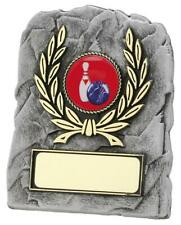 Economy Budget Plaque Award Trophy Grey New Free Engraving Personalised own cent