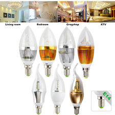 9W 12W E14 SMD LED Candle Down Light Warm Cool White Lamp Chandelier Globe Bulb