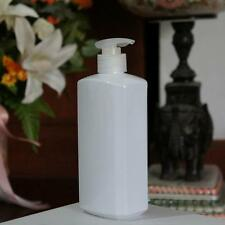 2 of 500ml White PET Plastic Bottle Dispenser Lotion Pump /28mm Free Shipping