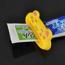 Yellow Cat Plastic Cartoon Toothpaste Tube Squeezer Easy Dispenser Extract