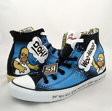 New 11 Converse THE SIMPSONS Homer DOH All Star Chuck Taylor Canvas Shoes Family