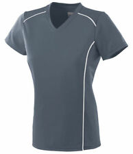 Augusta Sportswear Women's Smooth V Neck Winning Streak Jersey T-Shirt. 1092