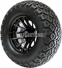 """12"""" RHOX RX104 Wheel with Tire Combo and Club Car Golf Cart Lift Kit"""