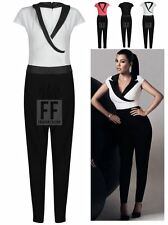WOMENS LADIES COLLAR CELEBRITY KIM KARDASHIAN EVENING PARTY JUMPSUIT PLAYSUIT