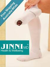 Anti Embolism Compression Stockings - Knee High By Jinni MD NEW
