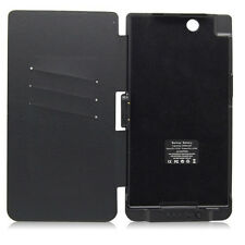 XL39h Extended Battery Charger Flip Cover Case For Sony Xperia Z XL39h 5000mAh