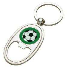 Football Silver Coloured Bottle Opener Keyring - Mothers Day Fathers Day - free