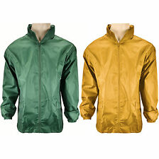 New Cagoule Mens Ladies Kagool Rain Coat Mac Lightweight Kagoul Raincoat Unisex