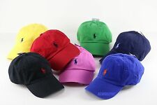 NWT POLO RALPH LAUREN UNISEX SIGNATURE PONY LOGO BASEBALL CAP HAT ONE SIZE