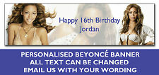 Beyonce Birthday Party Banner Personalised
