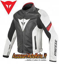 GIACCA DAINESE AIRFAST PELLE ESTIVO GIUBBOTTO MOTO MOTORCYCLE LEATHER JACKET